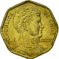 Monnaie, Chile, 5 Pesos, 2007, Santiago, TTB, Aluminum-Bronze, KM:232 - Chili