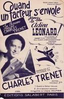 """Partitions Musicales Anciennes """"Quand Un Facteur S'Envole"""" """"Charles Trénet"""" - Partitions Musicales Anciennes"""