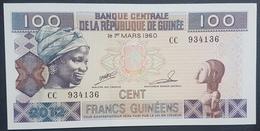 E11kb Banknote - Guinea, 100 Francs, 1960, KM #35a, 1960-03-01, UNC - Guinee