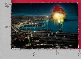 CARTOLINA VG ITALIA - TRIESTE - Notturno - Fuochi D'artificio - 10 X 15 - ANN. 1964 - Trieste