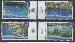 VANUATU ,2017, MNH, TOURISM, SWIMMING HOLES, CANOES, CHILDREN,  4v - Holidays & Tourism