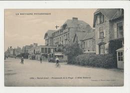 22 SAINT CAST PROMENADE DE LA PLAGE L HOTEL BELLEVUE CPA BON ETAT - Saint-Cast-le-Guildo