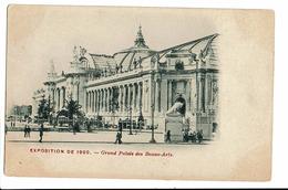 CPA - Cartes Postales FRANCE - Paris-Exposition Universelle De 1900-Palais Des Beaux Arts- S3510 - Exhibitions