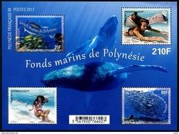 Polynésie Française 2017 - Fonds Marins, Poissons - BF Neuf // Mnh - Polynésie Française