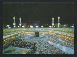 Saudi Arabia Picture Postcard Aerial View Holy Mosque Ka'aba Mecca Islamic View Card - Saudi Arabia