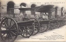 MUSEE DE L'ARMEE    GUERRE 1914 1918   LES TROPHEES  EXPOSES - Musées