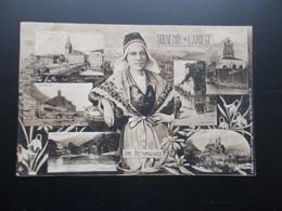 SOUVENIR DE L'ARIEGE  Une Bethmalaise 1906 - Greetings From...