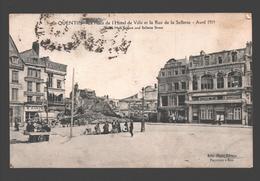 Saint Quentin / St. Quentin - La Place De L'Hôtel De Ville Et La Rue De La Sellerie - Avril 1919 - WW1 - Saint Quentin