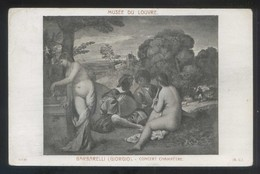 *Giorgio Barbarelli - Concert Champêtre* Paris, Musée Du Louvre. Nueva. - Pintura & Cuadros