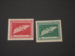 CILE - 1948 PIPISTRELLO  2 VALORI - NUOVI(++) - Cile