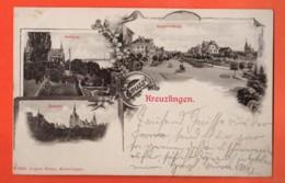 LON-30 Litho Gruss Aus Kreuzlingen. Gelaufen In 1901 Nach St.-Gallen. Pionier - TG Thurgovie
