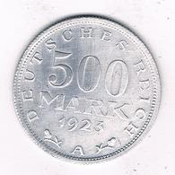 500 MARK 1923 A  /DUITSLAND /8080/ - [ 3] 1918-1933 : Republique De Weimar