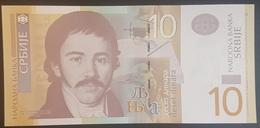 E11kb Banknote -  Serbia 10 Dinars, Dinara, 2013, UNC - Serbie