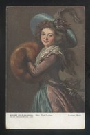 *Elisabeth Louise Vigee Le-Brun - Madame Molé-Raymond* Paris, Louvre. Oilette Nº 9123. Nueva. - Pintura & Cuadros
