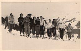 Original Photo Malmedinger Horn 1950 - Sport