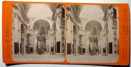 BASILICA DI S . PIETRO - ROMA - Stereoscopic