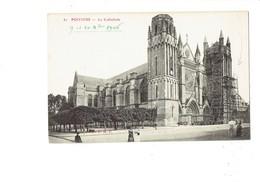 Cpa - 86 - Poitiers - La Cathédrale - Travaux échafaudage - 81 R.P.R. - 1906 - Poitiers