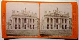 BASILICA DI S . GIOVANNI IN LATERANO - ROMA - Stereoscopic