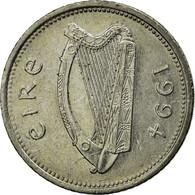 Monnaie, IRELAND REPUBLIC, 10 Pence, 1994, TTB, Copper-nickel, KM:29 - Irlande