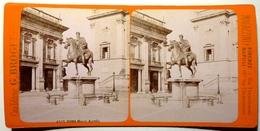 MARCO AURELIO - ROMA - Stereoscopic