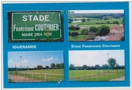 FOOTBALL CP   DU STADE  FRANCISQUE  COUTURIER  DE  IGUERANDE   71 - France