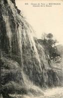 CPA 48 Lozère Meyrueis - Gorges Du Tarn - Cascade De La Douce - Circulée 1937 - Meyrueis