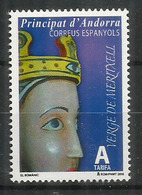 La Vierge De Meritxell, Année 2015, Timbre Neuf ** - Spaans-Andorra