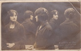 MUJER Y SU REFLEJO WOMAN & HER REFLEX FEMME ET SA REFLET. BIXIO & CIA.1910 VOYAGEE- BLEUP - Photographie