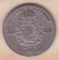 SUEDE. SWEDEN. 1/16 RIKSDALER 1848 A.G. OSCAR I. ARGENT - Suède