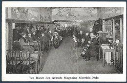 Tea-room Des Grans Magasins Merchie-Pède  - Bruxelles - Reclame