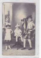 NIÑOS ENFANTS KIDS CRIANÇAS VESTIMENTAS LLAMATIVAS TRADICIONALES VINTAGE VOYAGEE 1912- BLEUP - Fotografie