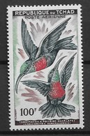 "CHAD 1961 Birds ""Scarlet-chested Sunbird"" - Hummingbirds"
