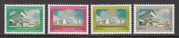 1981 Iraq Buildings Sadam Hussein Gymnasium, Palace Of Conferences Set Of 4 MNH - Iraq