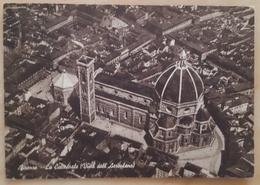 FIRENZE - La Cattedrale Vista Dall'aeroplano - Vista Aerea - Air View - Vg - Firenze