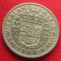 New Zealand 1/2 Half Crown 1948 Nova Zelandia Nuova Zelanda Nouvelle Zelande - Nouvelle-Zélande