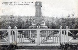 52 - AUBERIVE - Le Monument Aux Morts De La Grande Guerre - Auberive