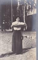 MUJER Y COLUMPIO FEMME ET BALANÇOIRE WOMAN & SWING. VINTAGE CIRCA 1910's NON CIRCULEE- BLEUP - Fotografie