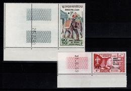 Laos - YV 69 & 70 N** Coin Daté - Annee Du Refugie - Laos