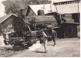 3167 - FOTO  18 X 13 CM  EISENBAHNEN   LOKOMOTIVE  SLOVENIJA - Trains