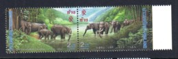 6.- THAILAND 1995 20th Anniversary Of The Diplomatic Relationship Between Thailand And The P.R.China - Tailandia