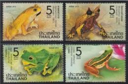 3.- THAILAND 2014. AMPHIBIAN FROGS - Tailandia