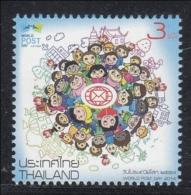 5.- THAILAND 2014. WORLD POST DAY 2014 - Tailandia