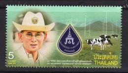 7.- THAILAND 2014. H.M King Bhumibol. Cow - Tailandia