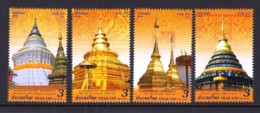 6.- THAILAND 2018 Vesak Day 2018 Postage Stamps - Buddha's Relics Of Each Zodiac Year - Tailandia