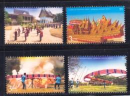 7.-  THAILAND 2018 Thai Traditional Festival Postage Stamps - Skyrocket Festival - Tailandia