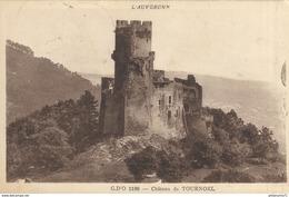 CPA  Tournoël - Château -  Circulé 1952 - Autres Communes