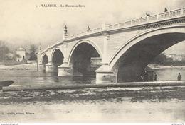 CPA  Valence - Nouveau Pont - Non Circulé - Valence