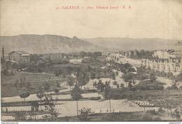 CPA  Valence - Parc Théodore Jouvet -  Circulé 1917 - Valence