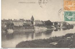 CPA  Verdun Sur Le Doubs - Vue Partielle -  Circulé - Autres Communes