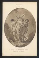 *F. Boucher - Le Triomphe Des Graces* Musée Du Louvre. Ed. Braun & Cie. Nº 10047. Nueva. - Pintura & Cuadros
